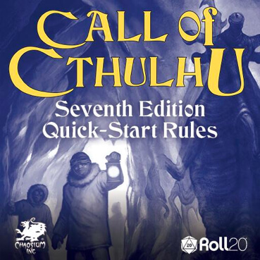 Call of Cthulhu - Seventh Edition Quick-Start Rules